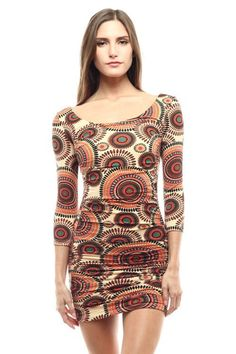 Stretch Bodycon Dress  Fit & Flare Dress-87% Polyester-13% Spandex    SIZE: S M L  US/CANADA '2/4' '6/8' '10/12'    Bust (in) '34-35' '36-37' '38-39'  Bust (cm) '86-89' '91-94' '96-99'  Waist (in) '26-27' '28-29' '30-31'  Waist (cm) '66-69' '71-74' '76-79'  Hips (in) '35-36' '38-40' '42-44'  Hips (cm) '89-92' '96-102' '107-112'    How To Measure Your Bust:  With your arms relaxed at your sides, measure around the fullest part of your chest.    How To Measure Your Underbust:  Measure around…