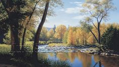 When Summer Turns to Autumn Mural LM7991M by York