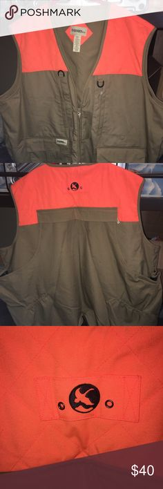 Gander mountain hunting vest Big and tall 3x men's hunting jacket. New without tags. Lots of pockets, mesh lining. Must have! gander mountain Jackets & Coats Military & Field