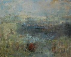 "Saatchi Art Artist Katrin Valdre; Painting, ""Waterside"" #art"