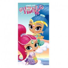 Nickelodeon Shimmer and Shine Toalla de Playa Bolsa de Playa