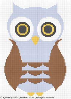 Crochet Patterns - OWL Baby Boy Afghan Pattern *EASY #KarensCradleCreations #Afghan