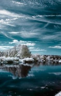 Free Winter wallpaper and other Nature desktop backgrounds. Get free computer wallpapers of Winter. Beautiful Nature Wallpaper, Beautiful Landscapes, Artistic Wallpaper, Wallpaper Art, Mobile Wallpaper, Infrared Photography, Landscape Photography, Cool Pictures, Cool Photos