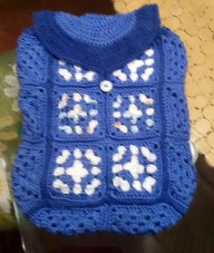 Crochet backpack by jld