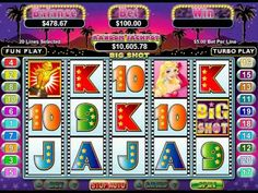 http://www.casino-online-promotion.com/Slots-of-Vegas-100free.htm  FREE Big Shot Casino Slot Game with $4,000 Free Bonuses from the Slots Oasis Online Casino at http://www.casino-online-promotion.com/wildvegas.php With the best casino bonus offers around, your first deposit bonus is worth up to $4,000 with the 400% match bonus    You can play the ...