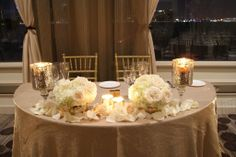 sweetheart table flowers - Google Search