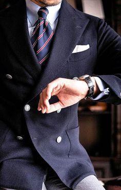Suit Fashion, Male Fashion, Italian Man, Three Piece Suit, Kingsman, Sharp Dressed Man, Men's Shirts, Suit And Tie, Business Attire