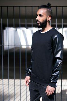 CLASSIC : sweatshirt : black