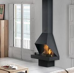Metal Fireplace, Cottage Fireplace, Home Fireplace, Fireplace Design, Wood Burning Heaters, Fire Pit Plans, Wood Pellet Stoves, Outdoor Bbq Kitchen, Metal Fire Pit