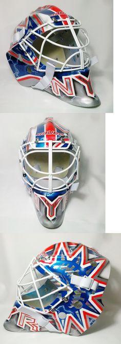 7887433e547 Face Masks 79762  Henrik Lundqvist Rangers Goalie Mask Hockey Helmet Nhl  Replica Full Size Adult -  BUY IT NOW ONLY   999.99 on eBay!