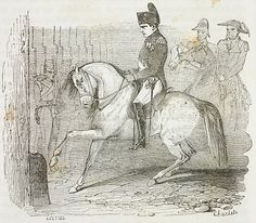 Guard of Honor welcoming Napoleon Bonaparte at Longwood House, St Helena Island, 10 December 1815, illustration from the first Italian edition of The Memorial of Saint Helena, Volume 1, 1842