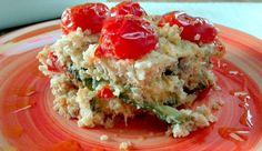 Ricetta quinoa al forno con verdure | baked quinoa with vegetables, recipe