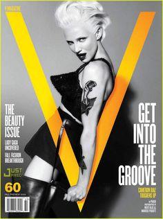 Cameron Diaz Covers V Magazine | cameron diaz v magazine 03 - Photo