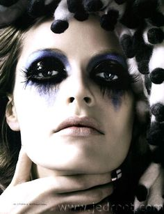 Makeup by Maria Olsson, Photography by Karl Lagerfeld
