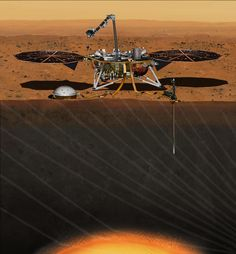 NASA's next Mars mission to investigate interior of Red Planet