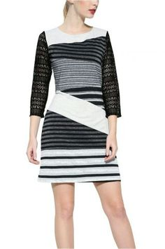 Desigual - šaty Skirts, Dresses, Fashion, Ireland, Black, Vestidos, Moda, Fashion Styles, Skirt