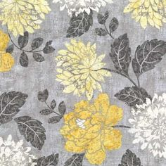 Ophelia Floral Fabric by the Yard