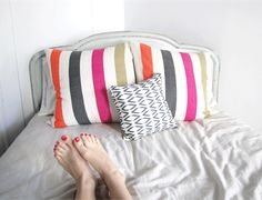 Makes @Anne Sage happy that she brightened a room with her Zoza Pillow http://www.lemlem.com/collections/home/products/zoza-large-pillow