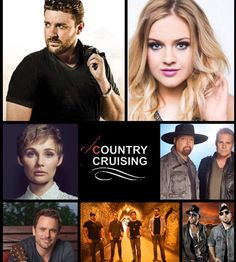 ☆♫☆  Our country music cruise lineup forJan 2017 lineup: Chris Young Montgomery Gentry  Charles Esten  Kelsea Ballerini  Clare Bowen LOCASH  Diamond Rio  Phil Vassar  Dallas Smith  Halfway to Hazard  Chasin Crazy Ray Scott  Viper Creek Band  James Wesley  Clark Hill  Lucy Angel  Olivia Lane Maggie Baugh  The Cains  Tate Stevens  Lucas Hoge  Wesley Spangler  Bianca Moon