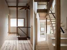 coil kazuteru matumura architects inserts boxes into rem house in japan