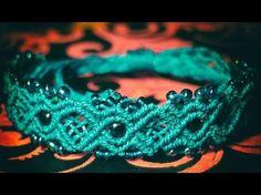 Mermaid Bracelet - Micro Macrame Tutorial - YouTube