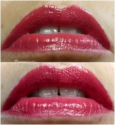 Swatches, photos and first impressions of Chanel Rouge Coco Stylo Lipshine lipstick, in shade Message, new for spring 2016 Chanel, Lipsticks, Coco, Swatch, Make Up, Photos, Beauty, Red, Pictures