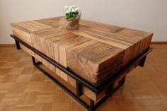 Stolik kawowy, Ława, Stół - dąb, dębowy, Loft, Rustyk, Stare drewno Śrem - image 1