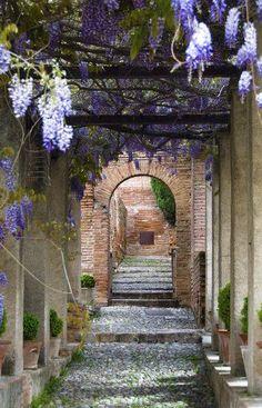 Jardines del Generalife, Granada, Andalucía