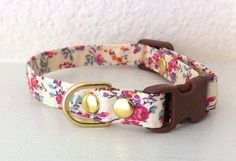 SALE Liberty Floral Cat Collar by cheridogdesign on Etsy Crazy Cat Lady, Crazy Cats, Getting A Kitten, Cat Bedroom, Kitten For Sale, Cat Accessories, Animal Projects, Cat Collars, Dog Coats