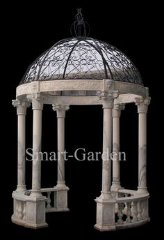 round pergola's | white marble gazebo hexagonal ga0205 sandstone gazebo hexagonal ga0206 ...