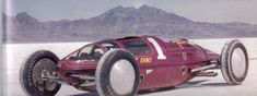 I first saw this unusual vehicle at the Bonneville Salt Flats during Speed Week. Belly Tank Racesters are an interesting form of 'Upcycling' transforming and reusing the wing tanks from…