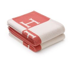 """Avalon  Baby blanket in wool and cashmere (40"""" x 56"""")  Ref. 100775M13  $760.00"""