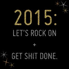 My 2015 Resolutions on #DarcieBakes!