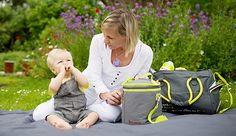 Poze Geanta pentru scutece Maternity Bag Grey - Badabulle
