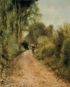 On the Path 1872 | Pierre Auguste Renoir | Oil Painting