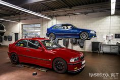 Track spec'd pair of BMW's E36 compact