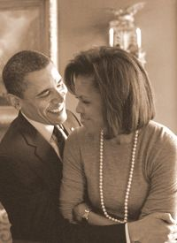President Barak Obama & 1st Lady Michelle Obama.....  Awesome Couple....