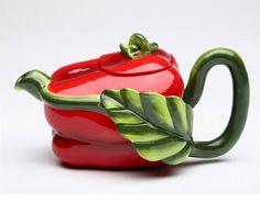 Hot Red Pepper Teapot