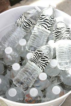 Dress Up Water Bottles