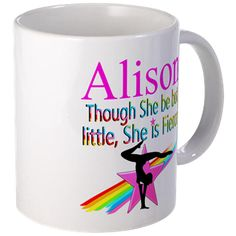 WORLD GYMNAST Mug Calling all Gymnasts! Show your love for Gymnastics with our awesome personalized Gymnastics Tees and Gifts. Not available in stores!  http://www.cafepress.com/sportsstar/10114301 #Gymnastics #Gymnast #WomensGymnastics #Lovegymnastics #Personalizedgymnast