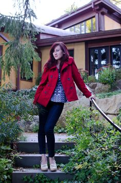 coat: self-made, pattern here // jeans: self-made, pattern here // top: on the blog soon! //shoes: Swedish Hasbeens I have recently becomecoat obsessed. I blame Sonja's coat post from a few…