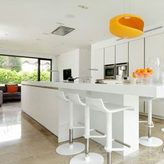 Arredare cucina piccola, ambiente open space con sala da pranzo ...