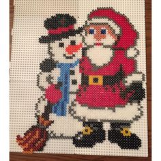 Christmas hama perler beads by jritaalm