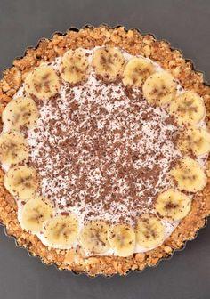בנופי פאי טארט בננות וטופי טבעוני