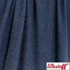 Lillestoff Glittercollege: Sininen-hopea
