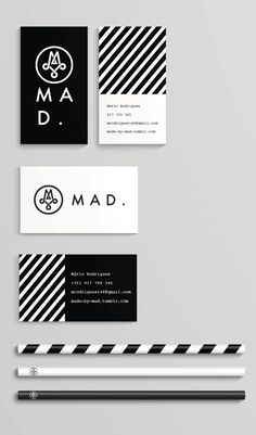 MAD-This is a personal identity for Mário Rodrigues who is a graphic designer focused on branding, typography, editorial and print design. Brand Identity Design, Corporate Design, Branding Design, Logo Design, Print Design, Branding Ideas, Corporate Branding, Stationary Branding, Stationery