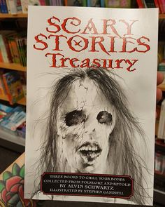 My kids going to love this! :p #scarystories