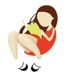girl reading, poster for Día del libro
