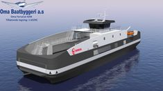 New ferry design awarded a contract from Boreal to Oma Baatbyggeri.  This will be an electric driven ferry with charging of batteries while unloading and loading at shore.  There will be a plugin diesel engine for safety/ backup. Haugalandet Sunnhordland - Maritimt Forum