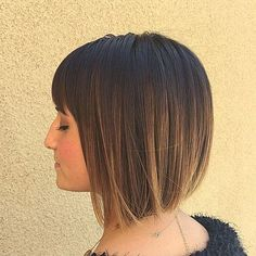Messy Layered Bob Haircut | 40 Classy Short Bob Haircuts and Hairstyles with Bangs